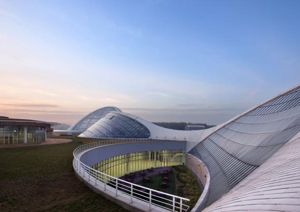 Ecorium, complejo de ecosistemas artificiales en Corea del Sur