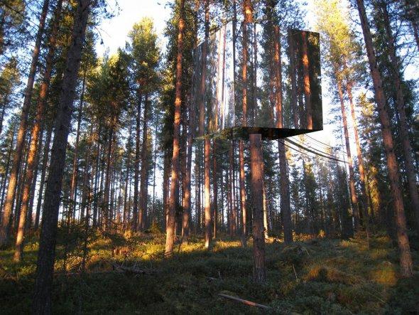 Hotel Cali-fauna, alojamiento suspendido en la copa de un árbol