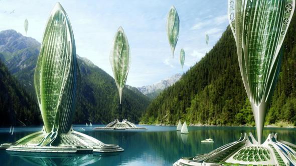 ¿Cómo será la arquitectura del futuro? Re-creaciones de la naturaleza