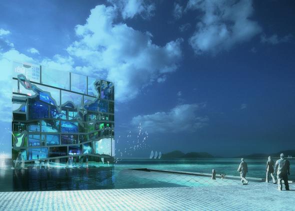 Grandes proyectos que no se construyeron: Water Cube (2009), MVRDV