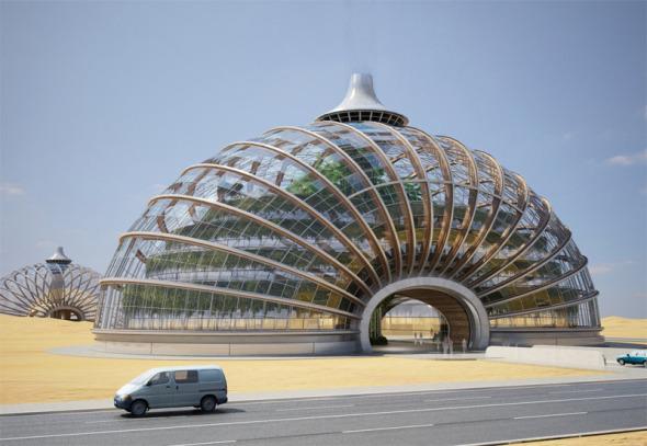 El arca un nuevo concepto de hotel a prueba de desastres for El concepto de arquitectura