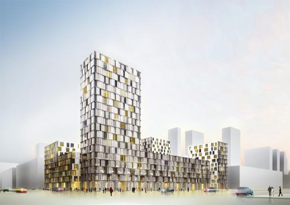 101 block [3 propuestas ganadoras] / De Architekten Cie. y SVESMI