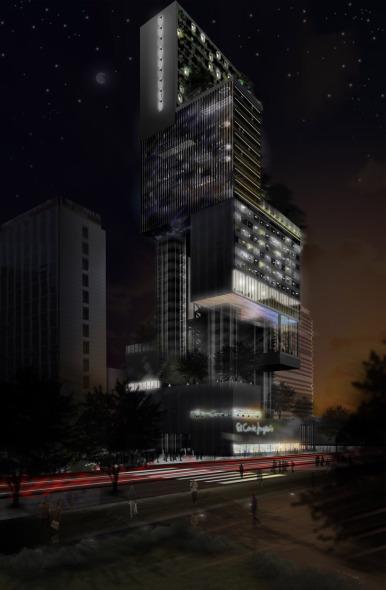 Torre de Usos Múltiples en Madrid / Paolo Venturella