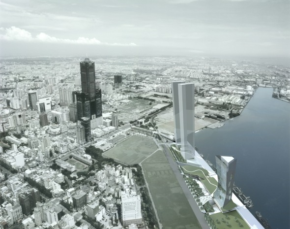 Propuesta para la Competencia de Diseño del Puerto Kaohsiung / Malone Chang + Yu-lin Chen Architects