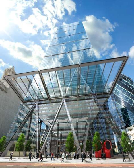 Richard Rogers ahora presente en el skyline de Londres