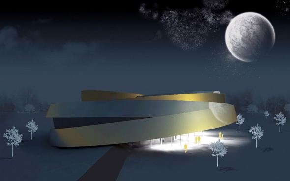 Rueda espacial / OFIS Arquitectos