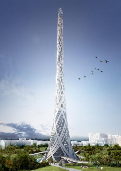 Propuesta Torre Taiwan / Aedas R-D