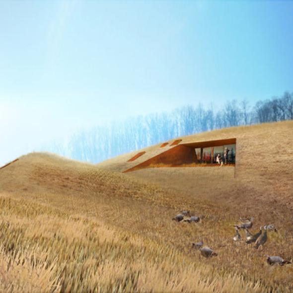 Casas Rurales en la Cascada / Patkau Arquitectos