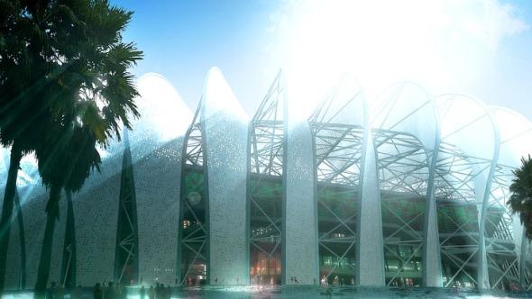 Gran estadio de Casablanca / Scau-Archi Design
