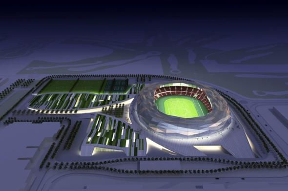 Estadio Doha Qatar 2022 / Red Fenwich Asociados y Arup