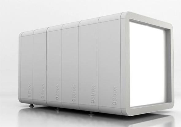 Baños modulares para espacios pequeños, que pueden crecer y moverse según las necesidades espaciales
