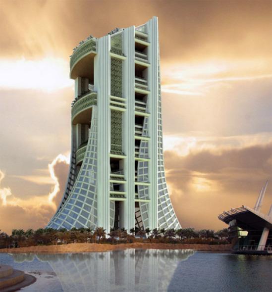 También París ha llegado a Dubai: Eko, rascacielos verde inspirado en la torre Eiffel