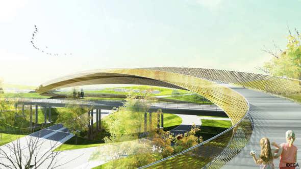 Stockholmsporten, un puente escultórico para la ciudad de Estocolmo