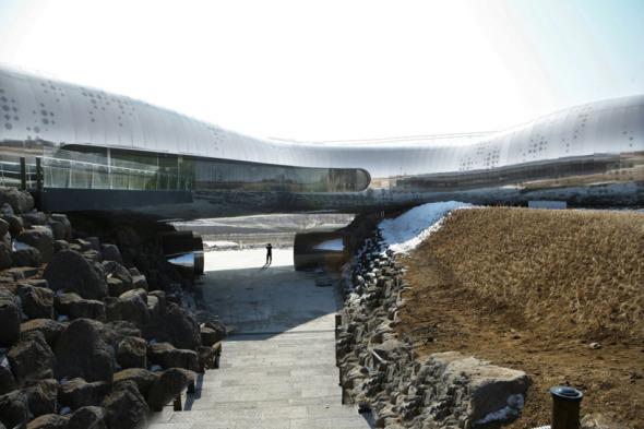 Museo de la Prehistoria de Jeongok, Corea del Sur