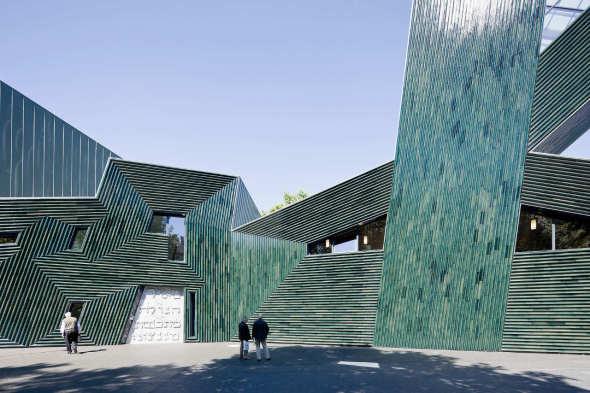 Centro para la Comunidad Judía Mainz / Manuel Herz Arquitectos