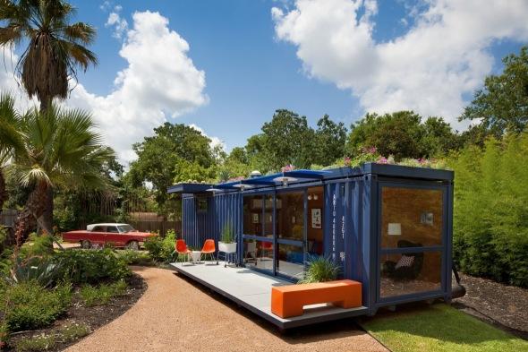 Casa de Huéspedes de contenedor / Arquitectos Poteet