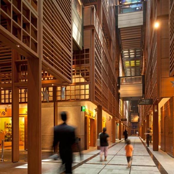 El Zoco, Mercado Central en Abu Dhabi / Norman Foster