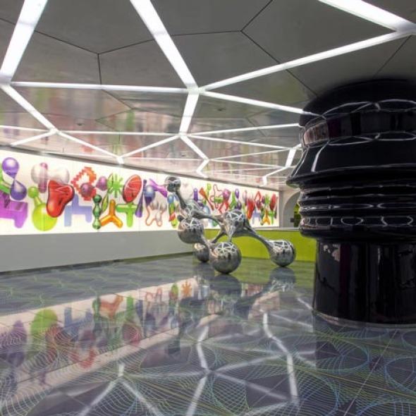 Estación de Metro de la Universidad de Nápoles / Karim Rashid