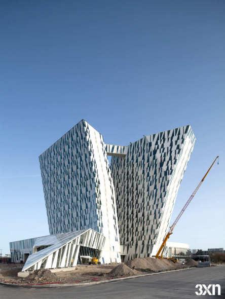 Hotel Bella Sky / 3XN Arquitectos