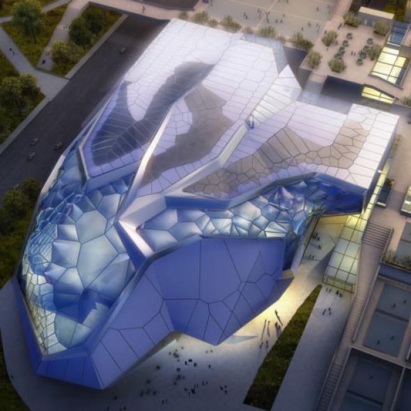 Centro de Eventos Cívicos y Arena de Juegos Nacionales 2013 / Emergent
