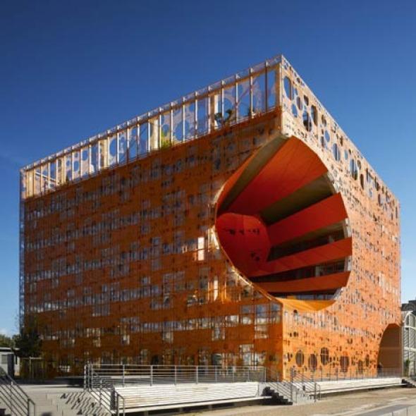 El cubo naranja / Jakob + Macfarlane - Noticias de