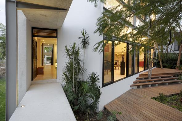 Casa Entre 193 Rboles Mu 241 Oz Arquitectos Asociados