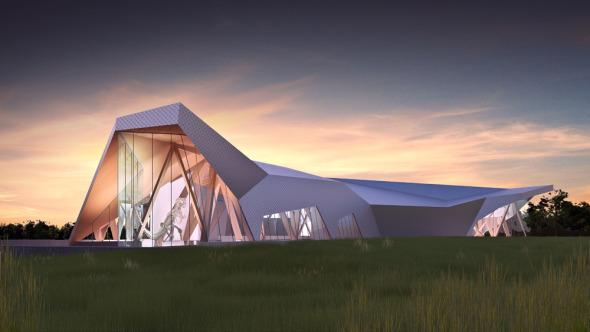Museo del Río de la Muerte y el Descubrimiento de los Dinosaurios / Teeple Architects