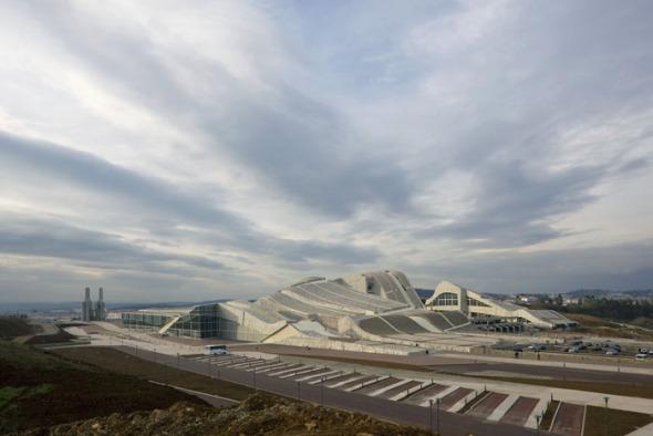 La Ciudad de la Cultura / Eisenman Arquitectos