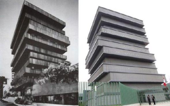 Edificio del Minedu es copia de uno mexicano de los 70
