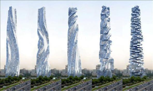Conexión entre arquitectura y tecnología: de las superficies estáticas a las estructuras en movimiento.
