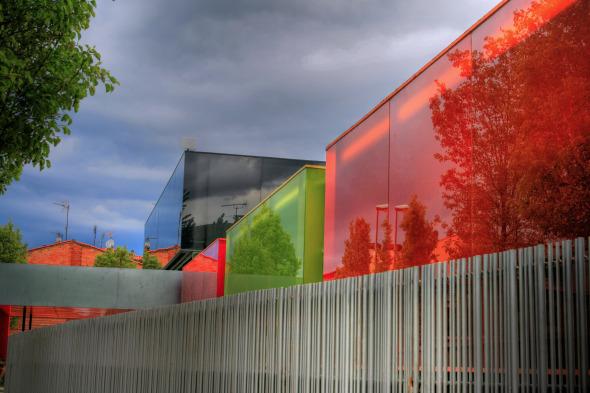 Guardería Els Colors, un lúdico y colorido espacio. RCR Arquitectos.