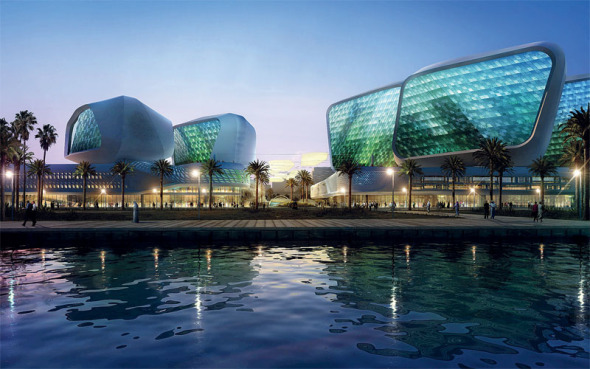Campus Mena Zayed, Abu Dhabi. UNStudio