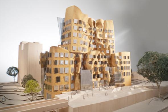 Edificio Dr. Chau Chak Wing de la Universidad Tecnológica de Sídney. Frank Gehry