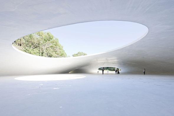 Museo de Arte de Teshima. Ryue Nishizawa y Rei Naito