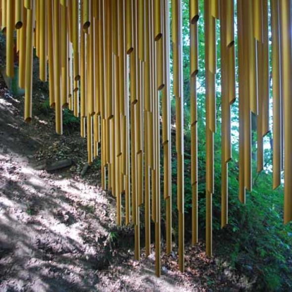 Un puente como instrumento musical / Mark Nixon