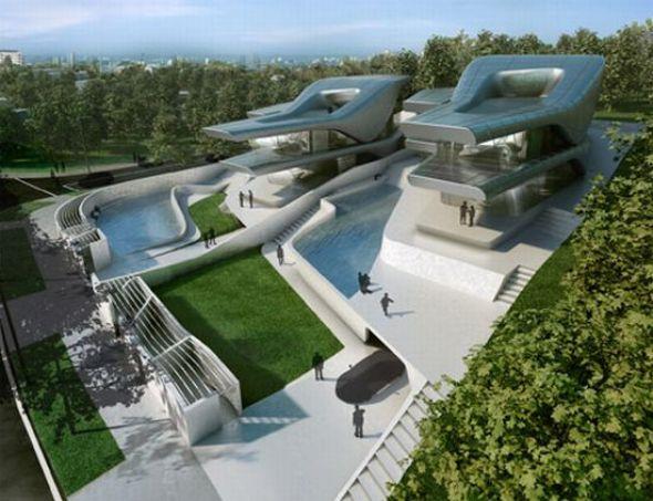 Villas Nassim / Zaha Hadid