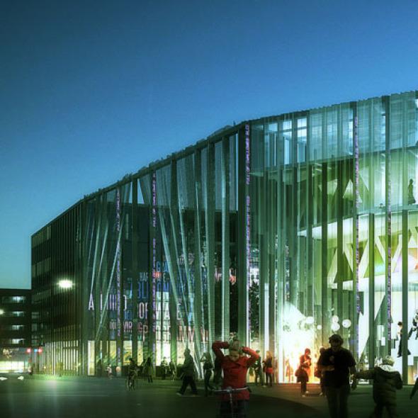 Casa de la Cultura y el Movimiento en Dinamarca / MVRDV