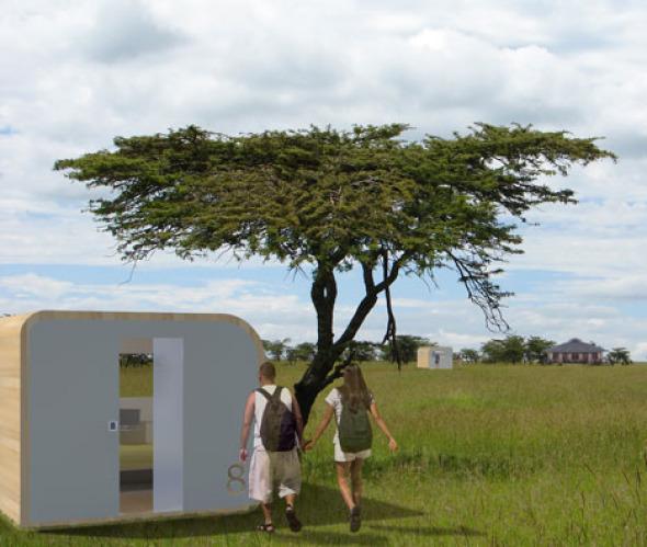 Un poco de privacidad y confort en medio del caos, Arquitecturas para lugares y situaciones especiales
