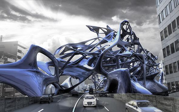 Una caótica arquitectura: El Puente inhabitable de Tokio. Dave Eaton, Geoffrey Klein y Michael Wetmore