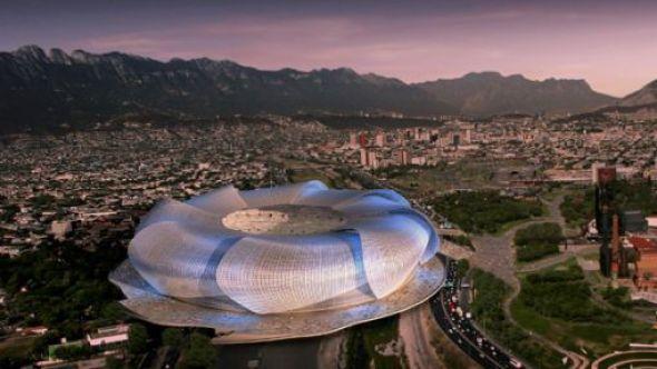 Tres proyectos que en sí mismos son un espectáculo: El Nuevo estadio de las Chivas; el Territorio Santos Modelo y El Nuevo Estadio del Monterrey.