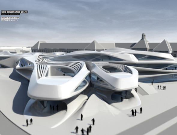 Nueva Escuela de Arquitectura de la Universidad de Delft / Peter Mitterer