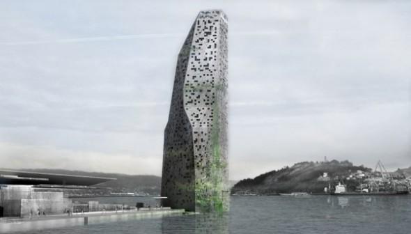Edificio principal y Plan Maestro del Puerto de Vigo / Jean Nouvel