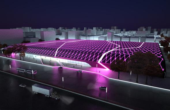 Un espectáculo lumínico: El Centro de Exposiciones de Guzhen / Volkan Alkanoglu