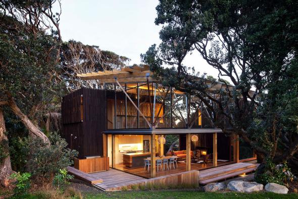casas diseno bosque