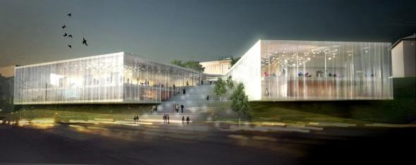 Teatro Polski, un espacio para las artes, envuelto por la naturaleza. WE Arquitectura