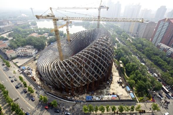 Oficinas para la Televisión China / BIAD UFo
