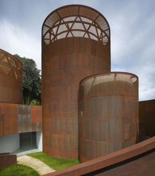 Imponentes fachadas de acero museo interactivo de la - Arquitectos lugo ...