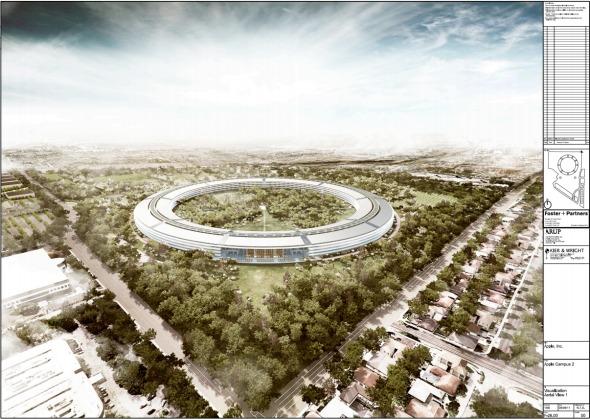 El último proyecto de Steve Jobs: un Nuevo Campus para Apple