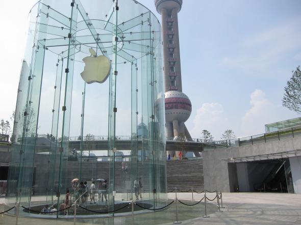 Apple Store Shanghai, ícono de una marca / Bohlin Cywinski Jackson