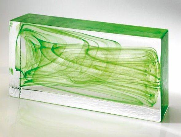 La belleza de la transparencia nuevo block de vidrio que - Ladrillos de cristal medidas ...